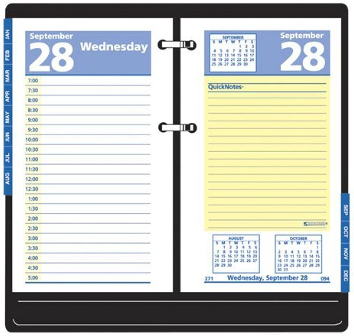 AAGE51750 - 2009 QuickNotes Two-Farbe Daily Desk Calendar Refill by At-A-Glance B0141NBI98 | Erste Qualität