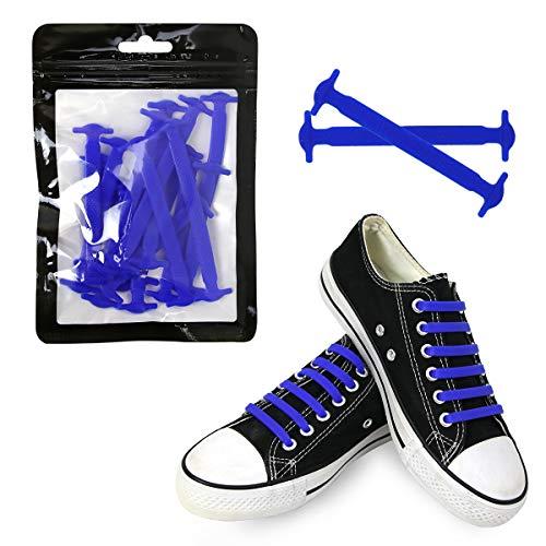 Schnürsenkel ohne Binden für Erwachsene, beste Sport-Fans, elastisches Silikon, kein Binden von Schnürsenkeln