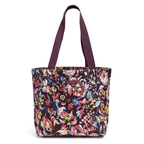 Vera Bradley Women's Lighten Up Shopper Tote Bag, Indiana Blossoms