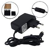 xinfene Alimentation pour Adaptateur Chargeur Micro USB Raspberry Pi 5V 2.5A avec Commutateur Marche...