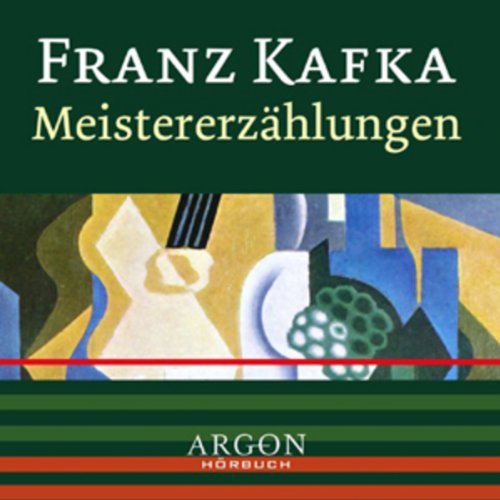 Kafka - Meistererzählungen audiobook cover art