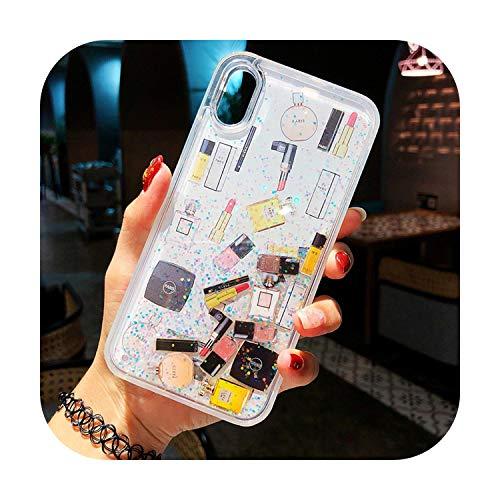 Carcasa para iPhone X 7, 6, 6S, 8 Plus, diseño de delfín y arena movediza, para iPhone 11 Pro X XS Max XR