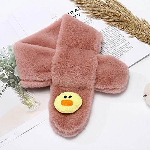 SUMHOM Bufanda Infantil cálida en otoño e Invierno.-Piel Ruddy Duck