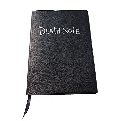 Kentop Carnet Notebook Carnet Ligné Ruled Carnet Journal Ligné Notebook Notebook Journal Blank Agenda Jotter Cahier Diary Modèle de Death note Cahier 20.5cmx14.5cm 1PCS