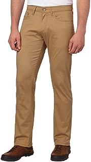 Weatherproof Vintage Men's 5 Pocket Twill Pant (34x34, Khaki)