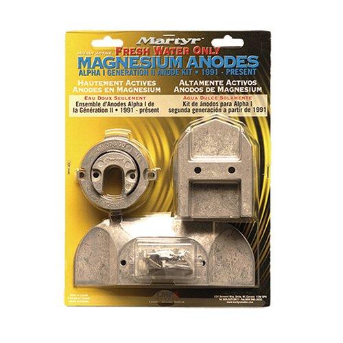 Martyr CMALPHAKITM Magnesiumanoden-Set Mercruiser Alpha I Generation II