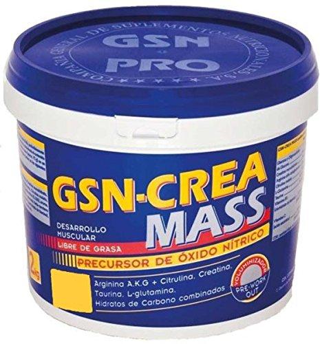 G.S.N. Crea-Mass Sabor Limon 2 kg - 1 unidad