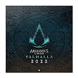Calendario Assassins Creed 2022 incluye póster - Calendario 2022 pared - Calendario 12 meses - Calendario anual│ Calendario de pared - Calendario mensual - Producto con licencia oficial