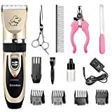 Best Pet Hair Clippers - Sminiker Rechargeable Cordless Dogs and Cats Grooming Clippers Review