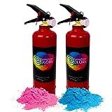 color blaster - Chameleon Colors Gender Reveal Color Blasters, 1 Pink and 1 Blue, Pack of 2