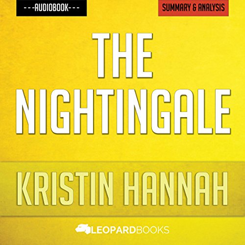 The Nightingale - by Kristin Hannah audiobook cover art