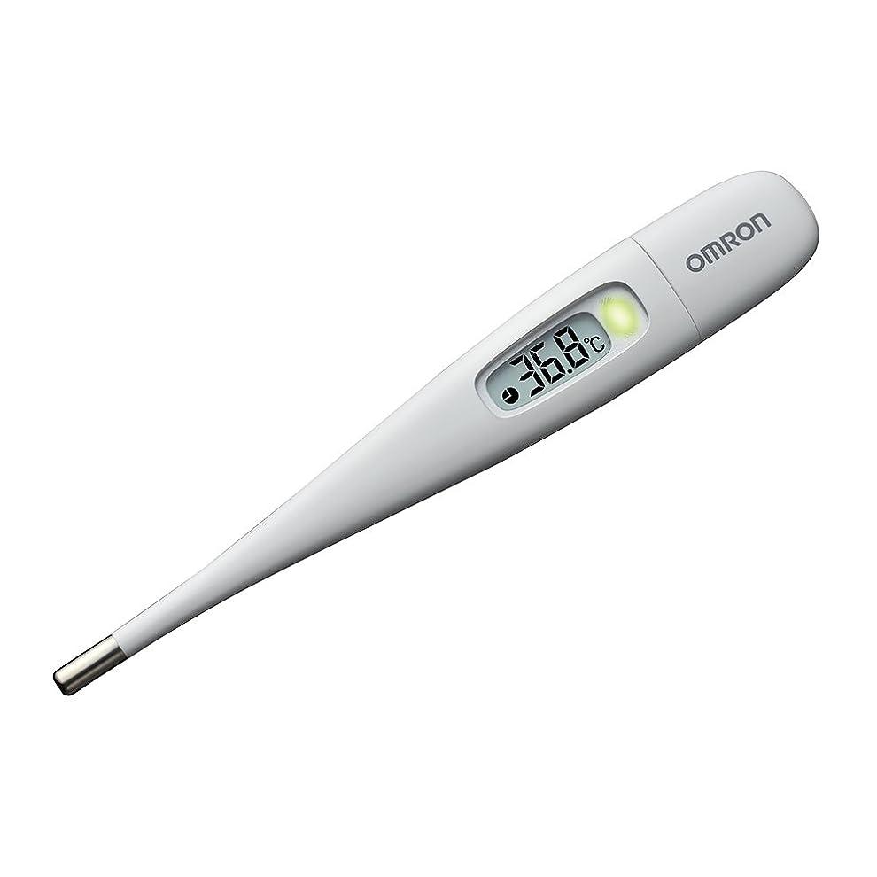 アデレード食事を調理する隣接オムロン 電子体温計 MC-687 ホワイト