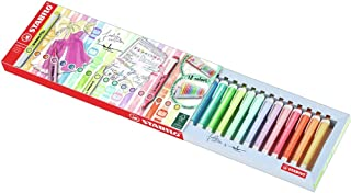 Highlighter - STABILO swing cool Deskset of 18 Assorted Colours 8 Neon & 10 Pastel