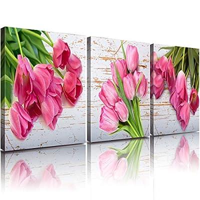 YOOOAHU Watercolor Painting Greeen Plant Series Canvas Print Wall Art Room Decor