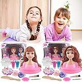 Kinder Dressing Make-up Simulation Puppen, Kleinkind Spielzeug Mädchen Alter 1 Spielhaus Blumen...