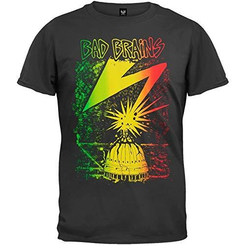 TAILAD Bad Brains Capitol - Camiseta para hombre