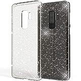NALIA Glitter Case compatible with Samsung Galaxy S9 Plus,