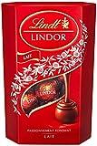 Lindt - Cornet LINDOR Lait - Chocolat au Lait - Cœur Fondant - 200g