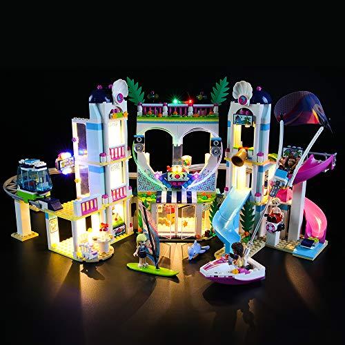 LIGHTAILING Conjunto de Luces (Friends Resort De Heartlake City) Modelo de Construcción de Bloques - Kit de luz LED Compatible con Lego 41347 (NO Incluido en el Modelo)