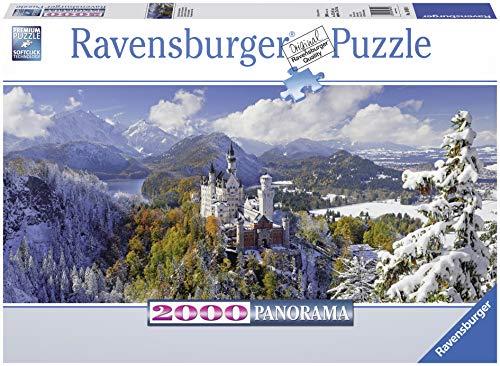 Ravensburger - Puzzle Castillo Neuschwanstein, 2000 Piezas (16691 6)
