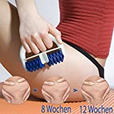 Lunata -Upgrade 2019- Anti Cellulite Massage Roller gegen Orangenhaut, Massagerolle für die...