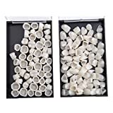 Dental Temporary Crown Teeth Anterior Posterior Dental Material(121 Pieces,Pack of 2 Box)