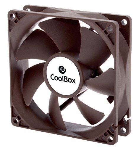 CoolBox COO-VAU090-3 - Ventilador auxiliar, 1600 RPM