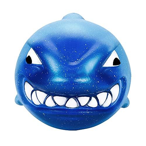 N\C Figets 12 Cm Squish Big Shark Cream Fidgets Juguetes perfumados de crecimiento lento niños apretando juguetes Mochis colección Gniotek Antystresowy