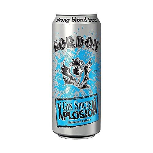 Gordon Gin birra bionda 11 ° 50 cl 6 x 50 cl