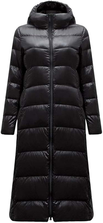 Women's Stylish Down Coat Winter Jacket with Hood Lightweight WaterResistant Packable