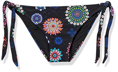 Desigual Damen Biki_Brasil B Bikini-Set, Schwarz (Negro 2000), 36 (Herstellergröße:S)