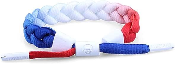 red white blue friendship bracelet