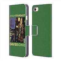 DAVID BOWIE デヴィッド・ボウイ (追悼5周年) - Ziggy Stardust レザー手帳型/iPhoneケース 【公式/オフィシャル】