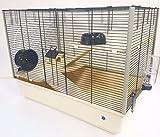 Grosvenor 2 étage & Langham 3 étage Grande Cage De Hamster Rat avec Bouteille d'eau Gratuite (Langham (3 étage)