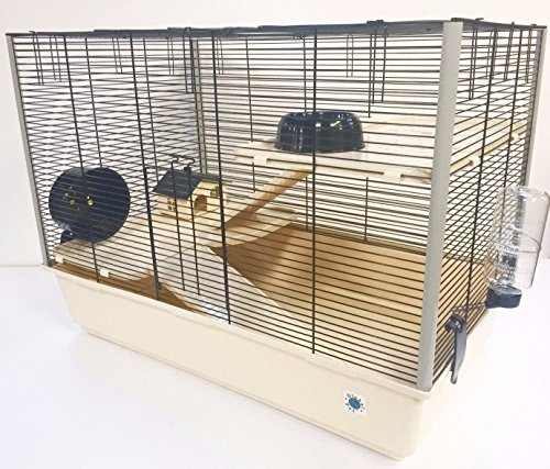 Global Pet Langham 3 Piso Gran Jaula De Hámster/Rata con Botella De Agua Gratis