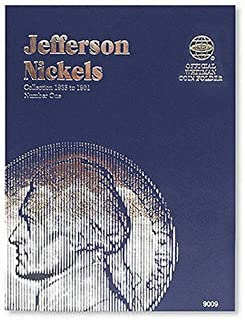 Coin Folders Nickels: Jefferson, 1938-1961 (Official Whitman Coin Folder)