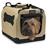 portable indoor/outdoor soft crate, small pet