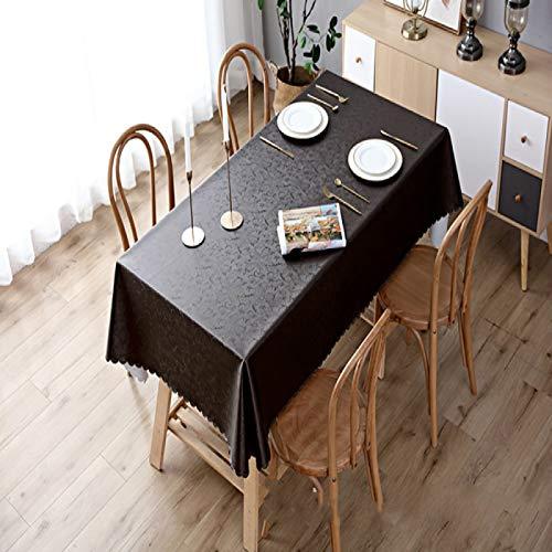 YOUYUANF Mantel Mantel Rectangular Mesa de Comedor Mantel Impermeable Mantel Fresco y antiincrustante, Adecuado para Mantel Rectangular de Cocina Interior o exterior320cm