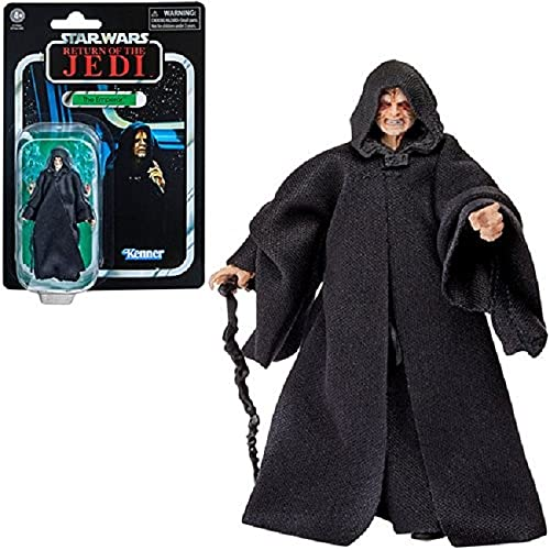 Hasbro Star Wars The Vintage Collection The Emperor Toy, 9.5 cm-Scale Star Wars: Return of the Jedi Action Figure, Toys for Kids Ages 4 and Up, F1902