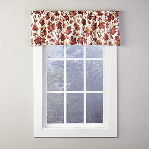 SKL Home by Saturday Knight Ltd. Falling Leaves Valance, Spice