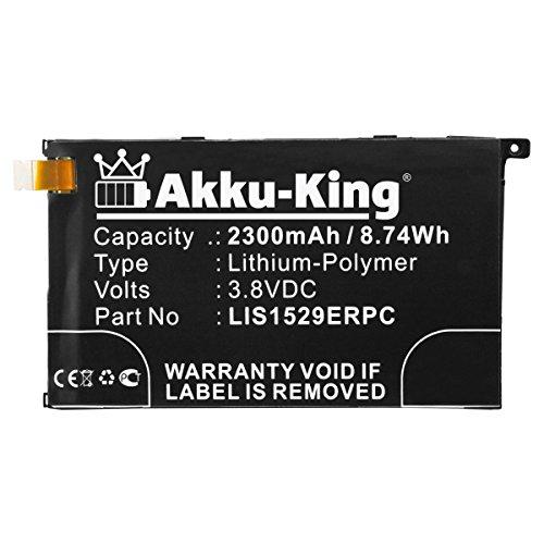 Akku-King Akku kompatibel mit Sony LIS1529ERPC - Li-Polymer 2500mAh - für Xperia Z1 Colorful, Z1 Compact, Z1 Compact LTE, Z1 Mini, Z1f, Z1s, Amami Maki