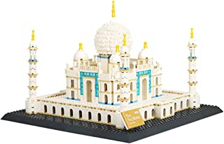 Taj Mahal Building Set, World-Famous Building Set Toys, Mini Building Blocks 1505Pcs Mini Building Blocks, Gift Toys for A...