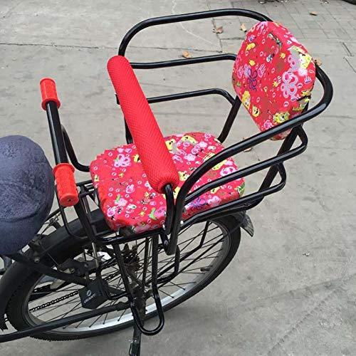 ZQZQMR Fiets Stoel Voor Kinderen Fiets Kinderstoel is veilig en comfortabel, eenvoudig te installeren, robuust en duurzaam, geschikt voor de meeste fietsen