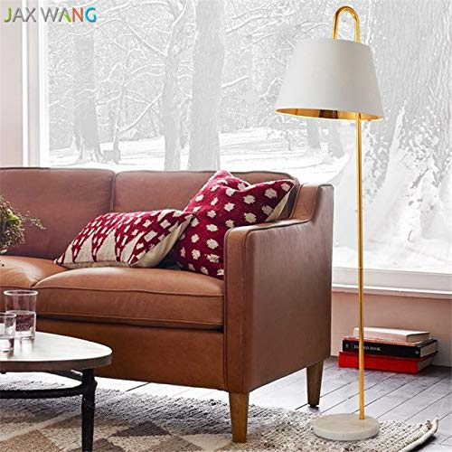 5151BuyWorld Lamp Nordic gouden vloer van hoogwaardige stoffen lampenkap vislicht afstandsbediening dimming vloerlamp voor verlichting woonkamer slaapkamer