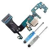 MMOBIEL Conector Dock de Carga de Repuesto Compatible con Samsung Galaxy S8 G950F Conex.Micrófono Altavoz Incl. Htas.