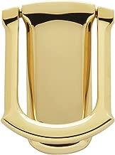 Baldwin 0105.003 Tahoe Door Knocker, Lifetime Polished Brass