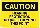 NMC C516RB CAUTION - HEARING PROTECTION REQUIRED BEYOND THIS POINT...