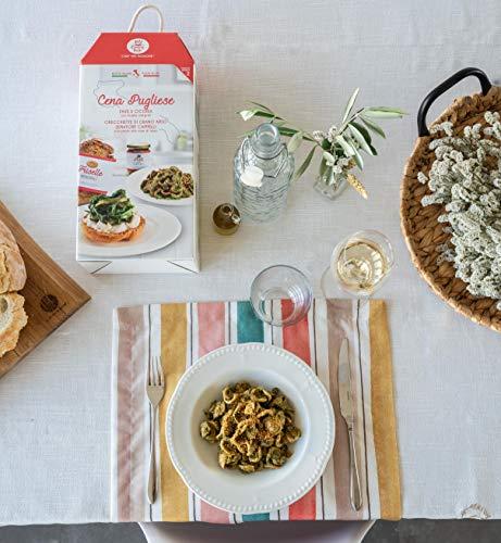 CENA PUGLIESE My Cooking Box x2 Porzioni - Per una serata tra amici, una cena romantica o come idea regalo originale! Resta a casa con My Cooking Box!