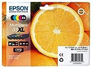 Epson 33XL Orange Multipack Claria 5-Colours, Amazon Dash Replenishment Ready
