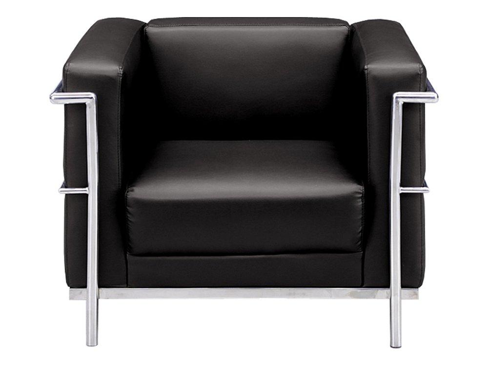 大川家具 関家具 1人掛けソファ(幅77cm 素材/合皮) キック ブラック色 149035